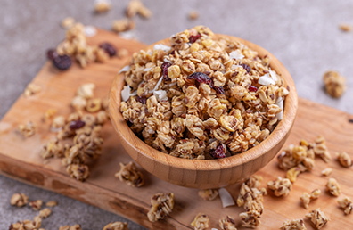 BF. HEALTHY HOMEMADE GRANOLA
